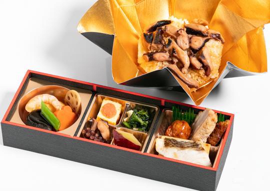 鶏西京焼きと板付焼真鯛+選べるご飯